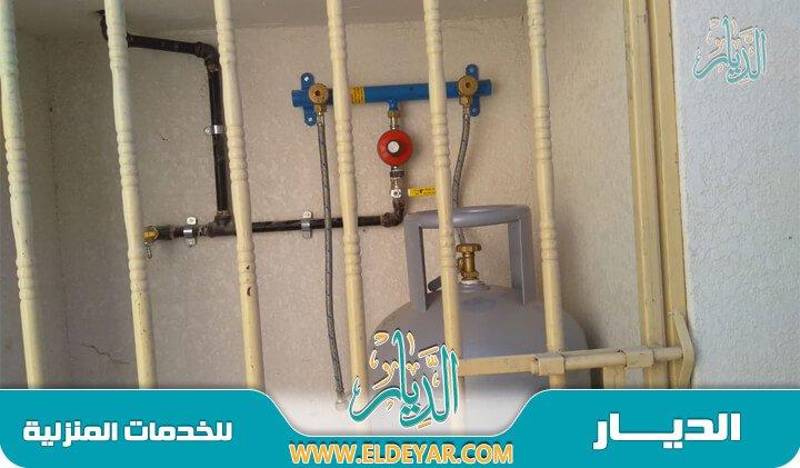 تمديد مواسير غاز للمطابخ وتقديم أجود أنواع الخامات الخاصة بتوصيل الغاز والأكثر صلابة
