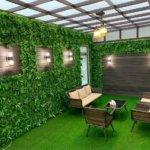 تنسيق حدائق بالمدينة المنورة تركيب عشب صناعي وتصميم شلالات ونوافير وتكريب نخيل وقص اشجار