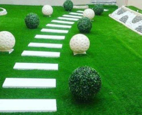شركة تنسيق حدائق بالجبيل وتركيب عشب صناعي وتصميم شلالات ونوافير وتكريب نخيل وقص اشجار