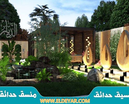 تنسيق حدائق بنجران وتركيب العشب الصناعي من خلال أفضل منسق أحواش وجلسات حدائق في نجران